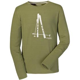 Schöffel Seiseralm Camiseta de manga larga Hombre, loden green